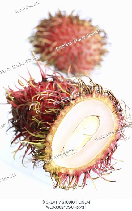 Sliced Rambutan