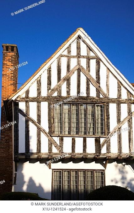 Half Timbered Building Lavenham Suffolk England