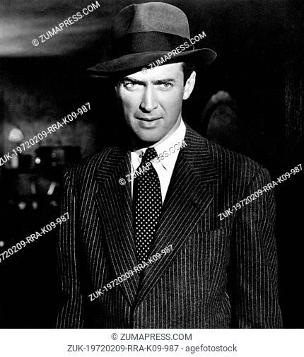 Jan. 10, 1948 - Hollywood, CA, U.S. - JAMES STEWART (1908-1997) was an American film and stage actor known for his distinctive voice and everyman persona