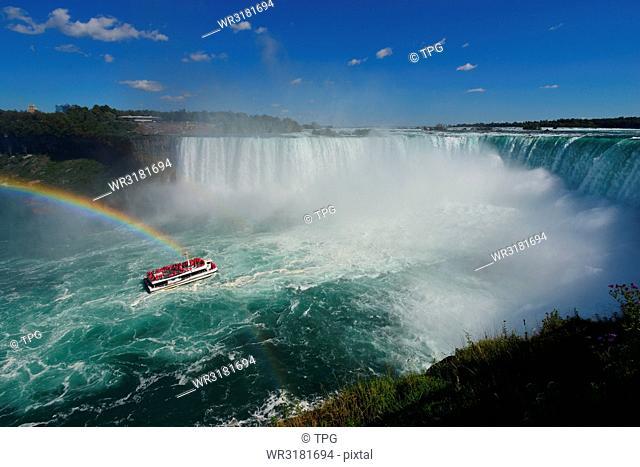 Niagara Falls/ spot- Horseshoe Falls