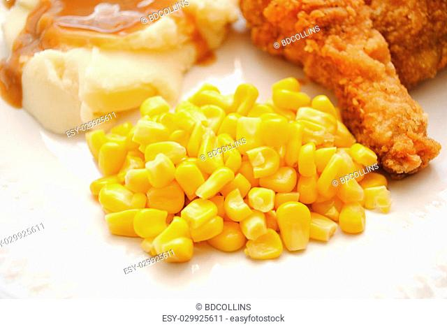 Corn Served as a Side Dish