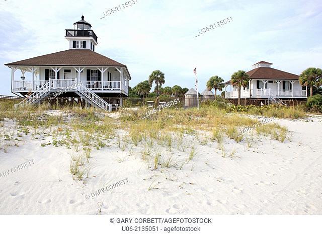 The Boca Grande Lighthouse in Florida, USA