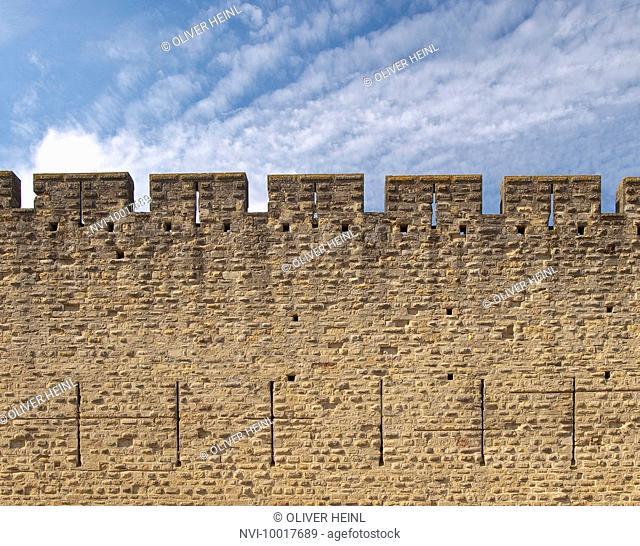 Cité of Carcassonne, World Heritage, Southern France, France, Europe