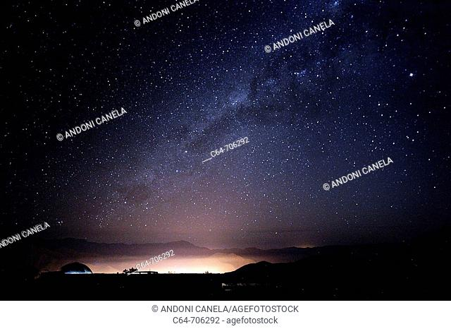 Astronomical Observatory of Mamalluca. Vicunas, Valle de Elqui. Region of Coquimbo, Chile