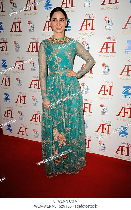 Arts for India Golden Gala - Arrivals Featuring: Tamannaah Bhatia Where: London, United Kingdom When: 31 May 2017 Credit: WENN.com