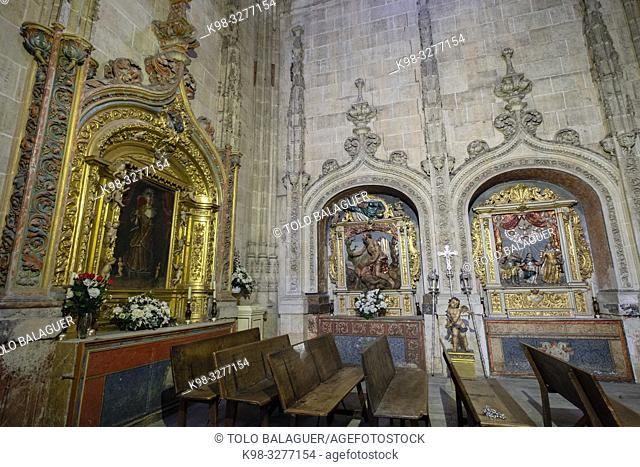 capilla de la Soledad, Catedral de la Asunción de la Virgen, Salamanca, comunidad autónoma de Castilla y León, Spain