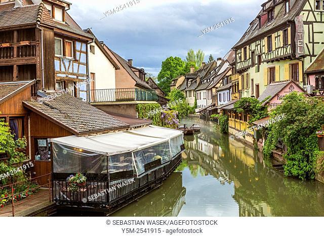 Petite Venice, Colmar, Haut-Rhin, Alsace, France, Europe