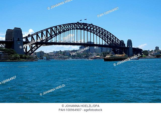 The Sydney Harbour Bridge is a steel through arch bridge across Sydney Harbour that carries rail, vehicular, bicycle, and pedestrian traffic between the Sydney...