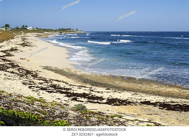 Hope Town Beach (South Beach). Hope Town, Elbow Cay, Abacos. Bahamas
