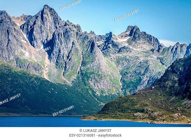 Beautiful landscape of Norway, Scandinavia