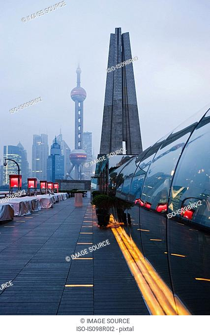 The bund and pudong shanghai