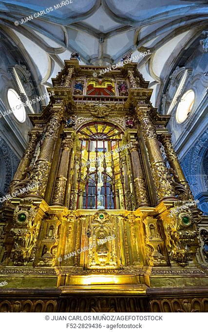 "Lignum Crucis , The largest surviving piece of the True Cross. , Monastery of Santo Toribio de Liébana, """"The Holy Road Lebaniego"""", Liébana Valley, Cantabria"