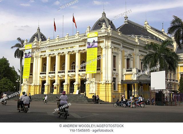 Nha Hat Lon Hanoi Opera House Vietnam