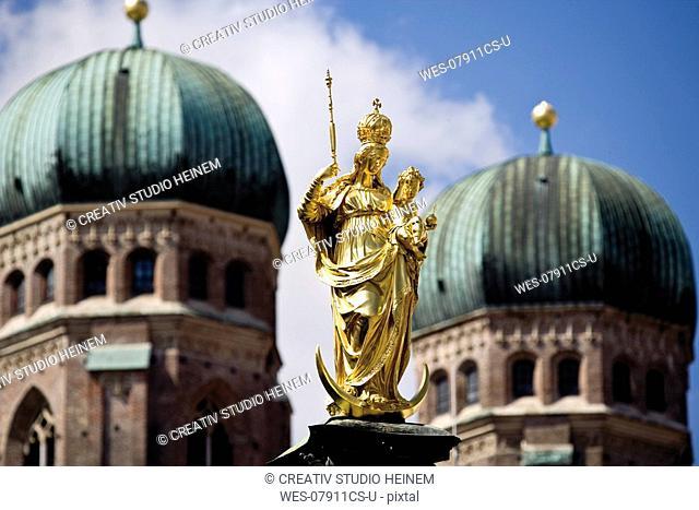 Germany, Bavaria, Munich, St Mary's Column