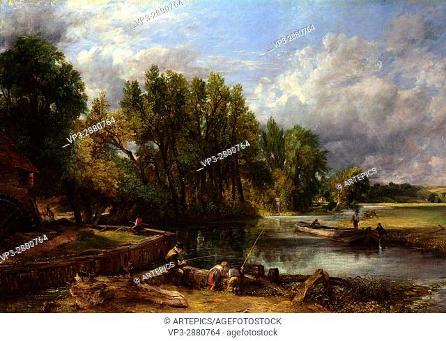 John Constable - Stratford Mill - National Gallery London
