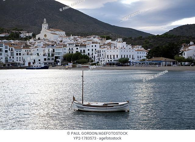 Fishing boat on the bay of Cadaqués - Cadaqués, Catalonia, Spain