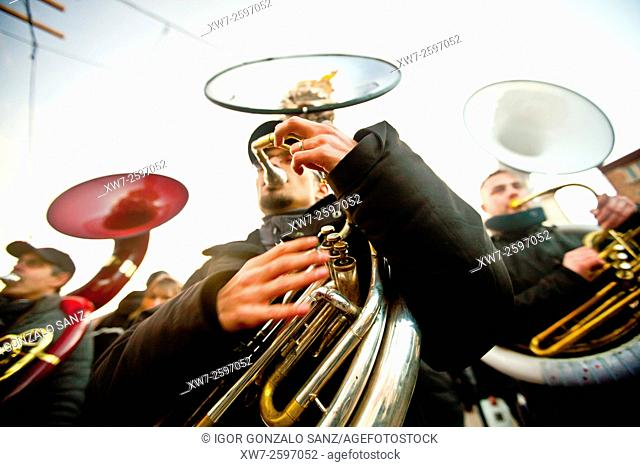 Carnival of Binche (Belgium, Europe)