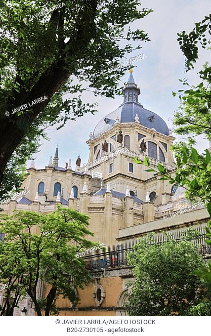 Catedral de La Almudena, Madrid, Spain, Europe