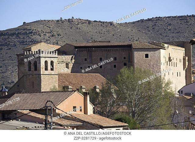 Rural architecture Mora de Rubielos Teruel Aragon Spain