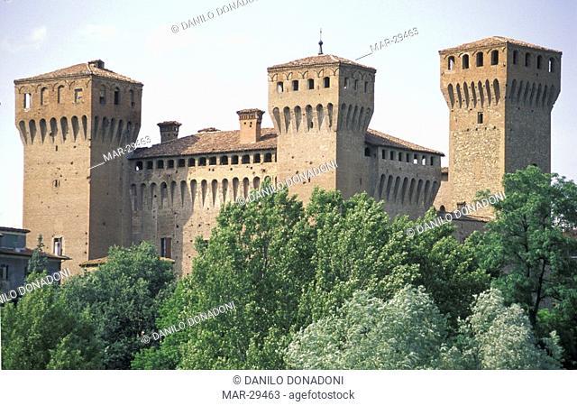 castle, vignola, italy