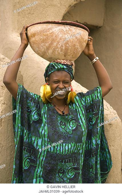 Fulani Woman, Mopti, Mali