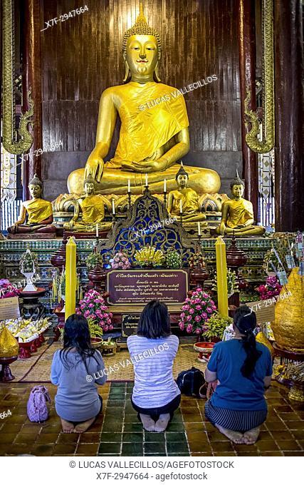 Wat Phan Tao temple, Chiang Mai, Thailand
