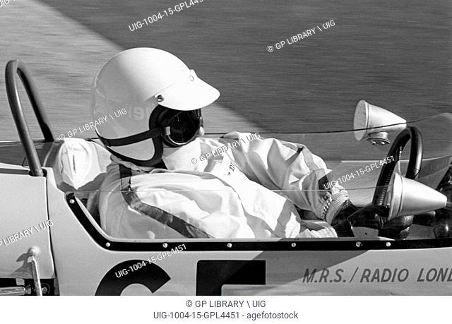 IX Grand Prix de Monaco. Harry Stiller in his Brabham BT21