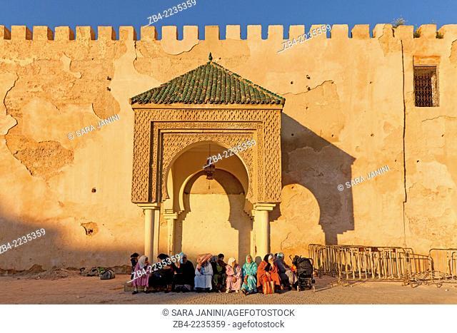 El Hedim square of Meknes, Morocco, North Africa