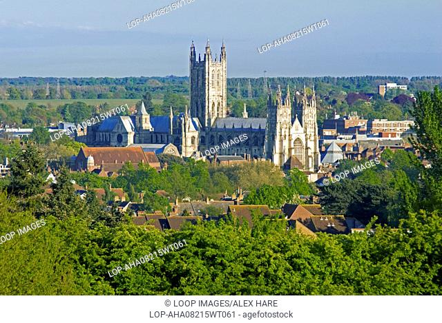 A view of Canterbury cathedral