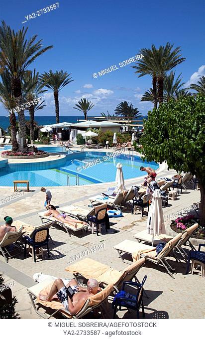 Swimming Pools at Athena Beach Hotel Resort in Paphos - Cyprus