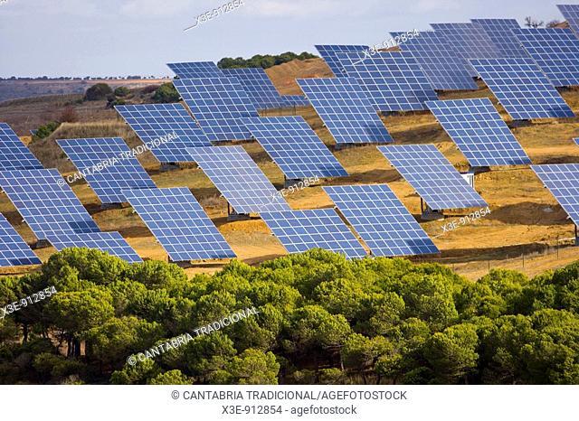 Paneles solares en castilla