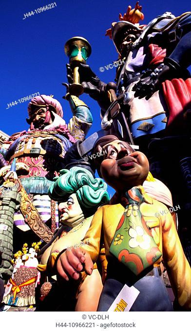 Fallas Celebration, Valencia, Levant, Spain