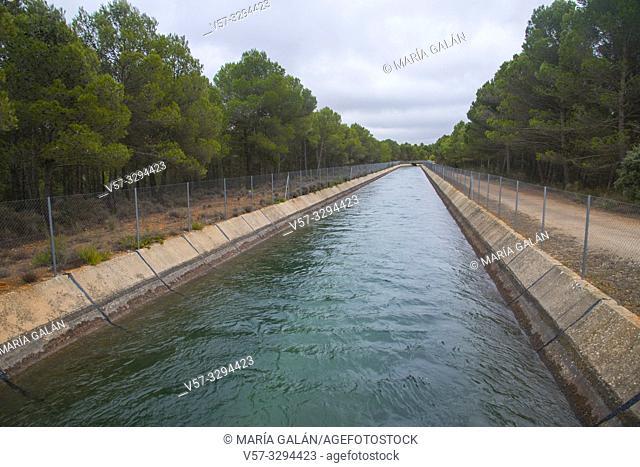 Trasvase Tajo-Segura. Cuenca province, Castilla La Mancha, Spain