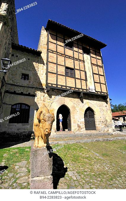 Santillana del Mar. Declared a historic-artistic site in 1889. Cantabria. Spain