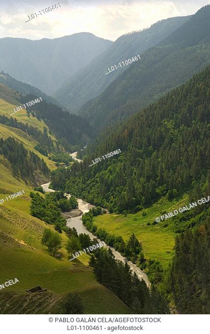 Tusheti National Park Georgia