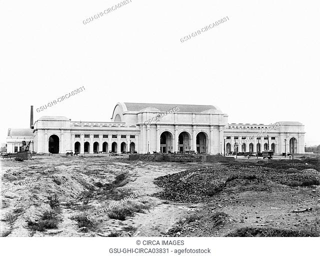 New Union Station, Washington DC, USA, Detroit Publishing Company, 1907