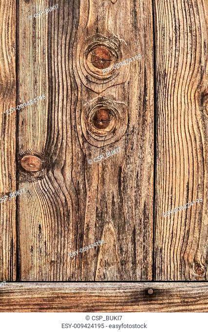Old Rustic Wood Barn Door