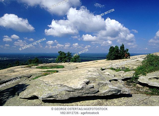 Stone Mountain summit, Stone Mountain Park, Georgia