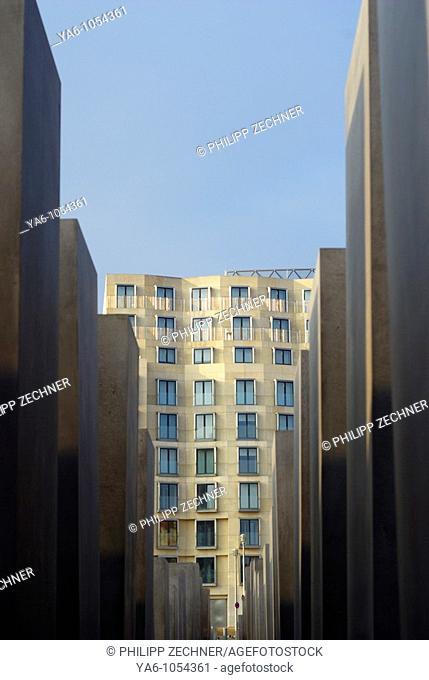 Holocaust Memorial Berlin, Ebertstrasse 2008