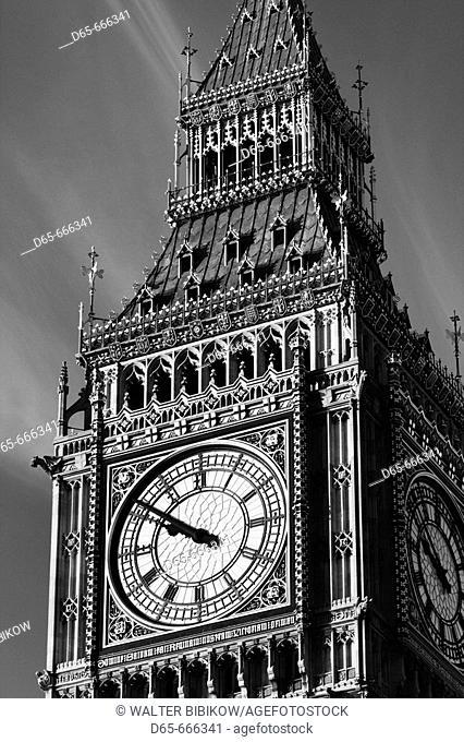 ENGLAND-London: Big Ben / Morning