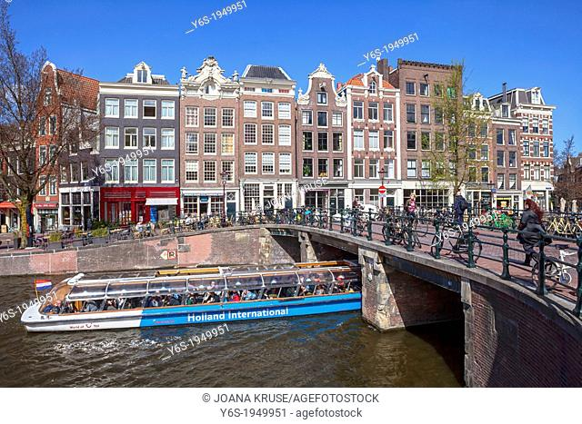 Amsterdam, Prinsengracht, North Holland, Netherlands