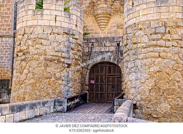 Castle of Ampudia (15th Century). Ampudia. Palencia Province. Castilla y León. Spain