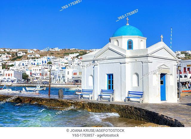 Agios Nikolaos tis Kadenas, Mykonos, Greece
