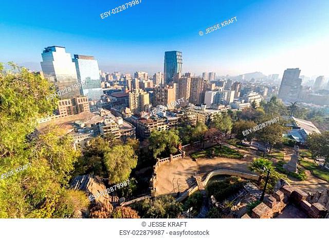 Santiago Skyline and Park