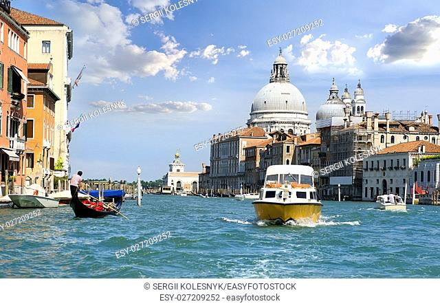 Cityscape of Venice at sunny summer day, Italy