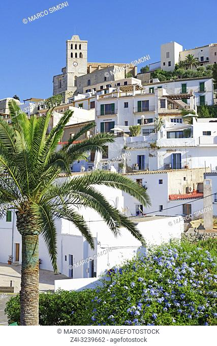 Ibiza town, Ibiza, Balearic Islands, Spain,