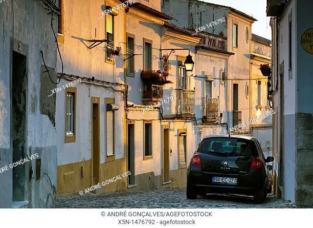 Streets of Evora, Portugal, Europe
