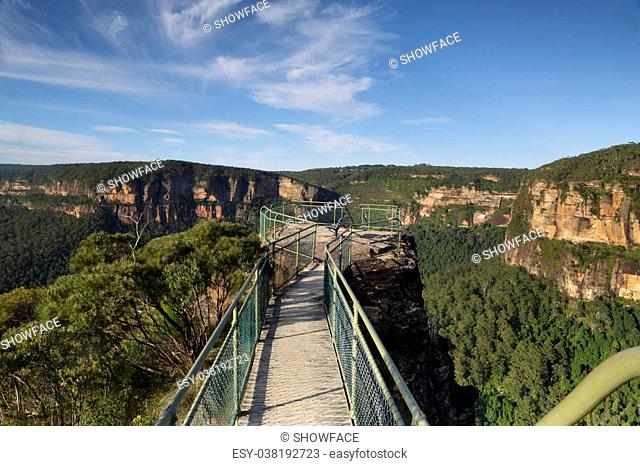 A small narrow bridge helps your traverse the narrow precipice with safety to one of the lookout posts. A further steep ladder takes you down onto a lower...