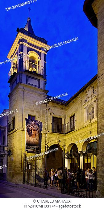 Europe, Spain, Andalucía, Cordoba province, Montilla city, Tower of the San Francisco Solano church