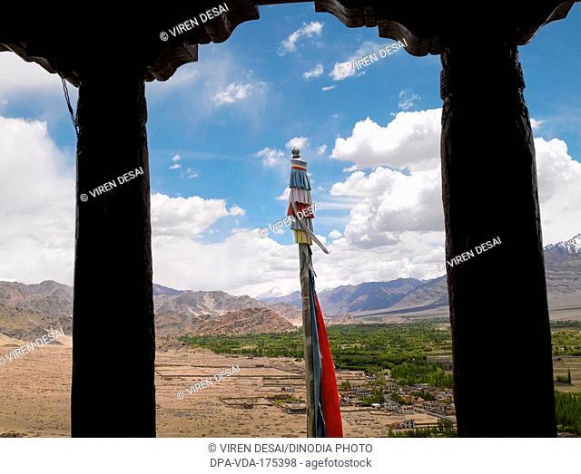 Thiksey Monastery , Leh , Ladakh , Jammu And Kashmir , India , Asia